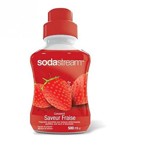 SodaStream Machine Accessories and Consumables/ /Strawberry Soda concentr/ã /© 3001901/3001901