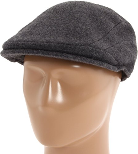 Kangol Men's Wool 507 Cap, Dark Flannel, Small ()