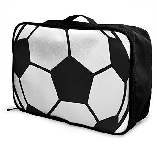 (Luggage Bag Travel Duffel Bag Waterproof Sports Balls Lightweight Large Capacity Portable Storage Bag)