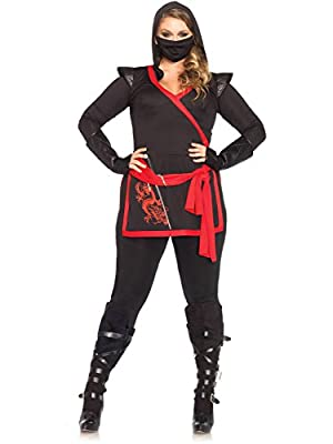 Leg Avenue Women's Plus-Size Ninja Assassin