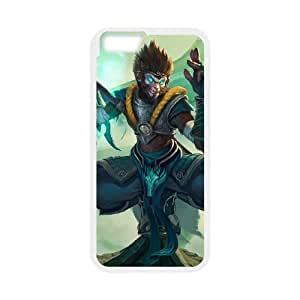 League of Legends(LOL) Jade Dragon Wukong iPhone 6 Plus 5.5 Inch Cell Phone Case White 11A100181