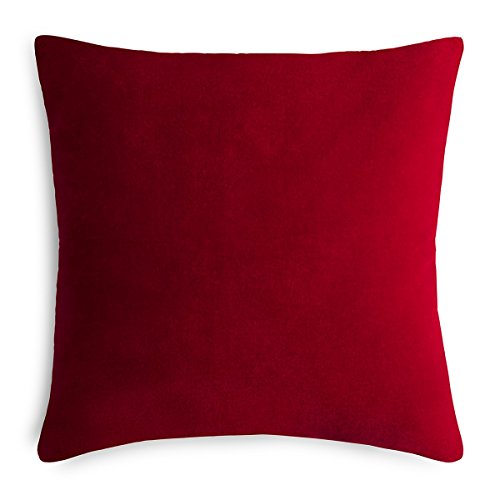 Calvin Klein Home Lucerne Pillow, Oxblood