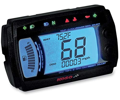 Koso XR-SR Multi Function Electronic Speedometer For Sale