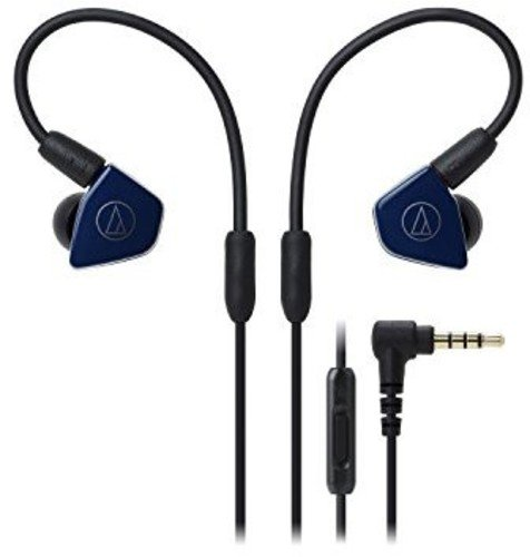 Audio-Technica ATH-LS50iSNV In-Ear Monitor Headphones with I