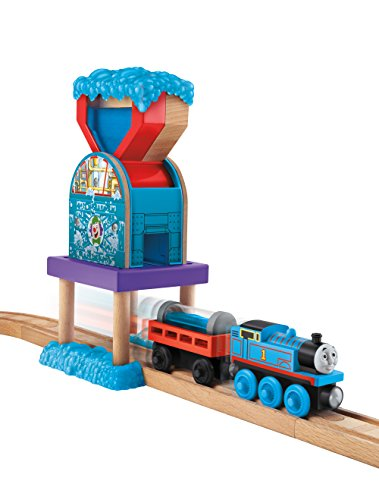 Thomas Wooden Railway Layouts (Fisher-Price Thomas Wooden Railway Set, Bubble Shop)