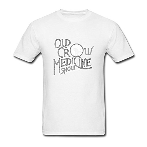 XLHL6OJ Mens Old Crow Medicine Show Wagon Wheel Short Sleeves T shirt (Old Crow Medicine Show Wagon Wheel T Shirt)