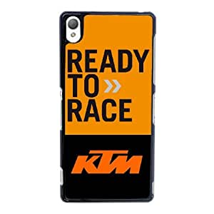 Ktm Racing Logo For Sony Xperia Z3 Phone Case Cover 6FY944127