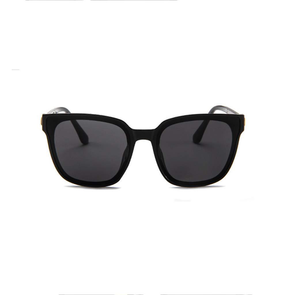 BBestseller Forma irregular Gafas de Sol Hombre Mujer Protección Gafas de Sol Polarizadas Vasos planos Eyewear (Negro): Amazon.es: Salud y cuidado personal