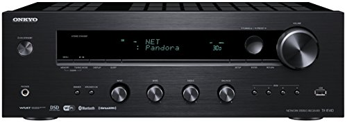 ONKTX8140 Onkyo Network Stereo Audio Component Receiver, Bla