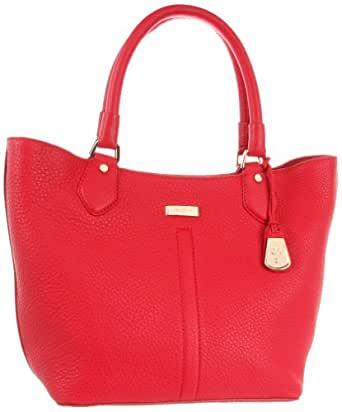 Cole Haan Women's Serena Village Small Triangle Tote,Tango Red,One Size