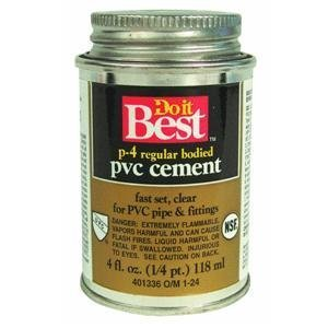Do it Best PVC Solvent Cement by William H. (Best Pvc Solvent Cement)
