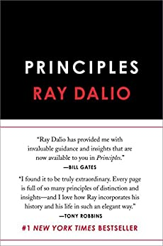 Principles by Ray Dalio 100 must read life changing books