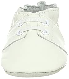 Robeez Special Occasion Soft Sole Slip-On (Infant),White,6-12 Months M US Infant