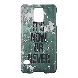Loud Universe Samsung Galaxy S5 It's Now or Never Print 3D Wrap Around Case - Multi Color
