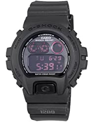Casio Mens G-Shock Military Concept Black Digital Watch #DW6900MS-1CR