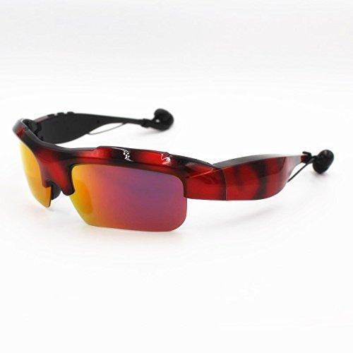 Wireless Bluetooth Earphone Sports Headphone Smart headset Sunglasses Mp3 Riding Glasses - Sunglass Emporium