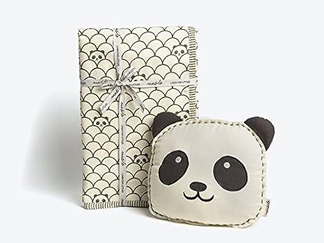 9589806c0e75 Masilo Peekaboo Panda Tuck Me In Gift Set With Dohar  Amazon.in  Baby