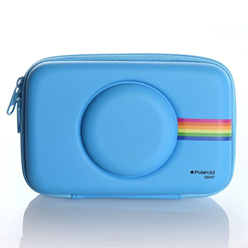Polaroid Eva Case Snap & Snap Touch Instant Print Digital Camera (Blue)