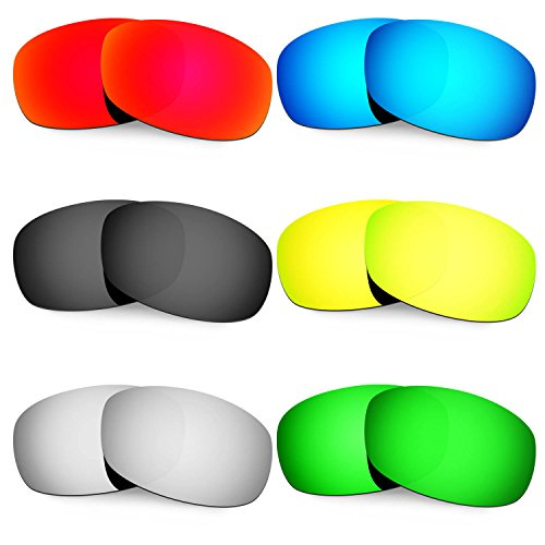 HKUCO Mens Replacement Lenses For Costa Brine 24K Gold/Emerald Green Sunglasses 1YwmzYhIU