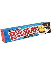 Biscoito Recheado, Chocolate, Passatempo, 130g