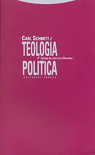 Teologia Politica (Spanish Edition)