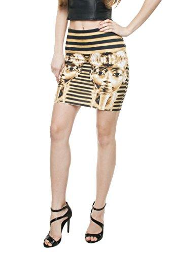Women\'s Mädchen Kleid Mini RockHose Slim High Waist Fashion Bandage ...