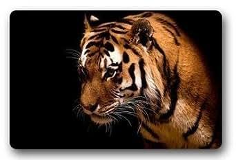 Bengal Tiger Customized Novelty Rug Bathroom Carpets Doormat Indoor or Outdoor Floor Door Mat 23.6x15.7 Inches