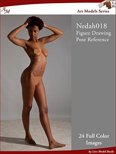 Art Models Nedah018: Figure Drawing Pose Reference (Art Models Poses)