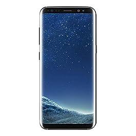 Samsung Galaxy S8, 64GB, Midnight Black – For Sprint (Renewed)