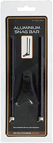 G8DS Mini Aluminium Snag Bar in Schwarz, robust, ideal für Unterwegs, Outdoor, Freizeit, Camping, Angeln
