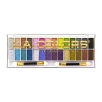 Amazon.com : L.A. Colors 28 Color Eyeshadow Palette Kit - Santa ...