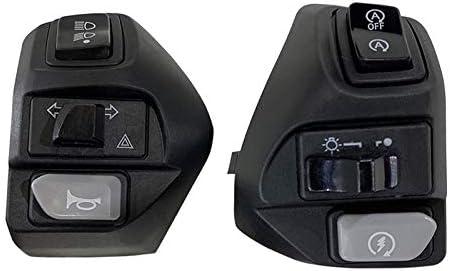 LiWen Zheng オートバイのコントローラは、Y A M A H A NVX155 125 AEROX155用ホーンターンシグナルフォグランプライトスタートハンドルスイッチのボタンスイッチ