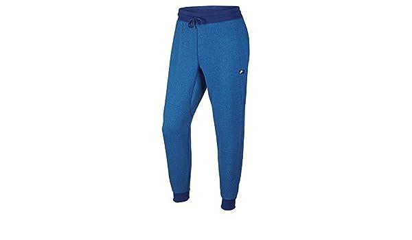 6144ca00b NIKE Men's AW77 Shoebox Cuffed Sweatpants (727397-455) - DEEP Royal Blue/Light  Photo Blue/Heather (X-Large) at Amazon Men's Clothing store: