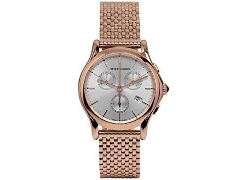 Emporio-Armani-Swiss-Made-Mens-Quartz-Stainless-Steel-Dress-Watch-ColorRose-Gold-Toned-Model-ARS6009