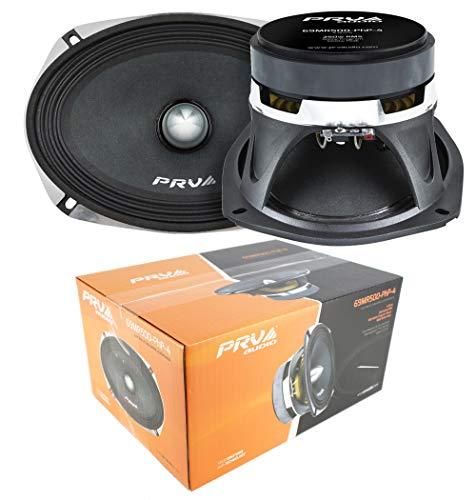 1 Pair PRV Audio 69MR500PHP-4 6×9 1000W 4-Ohm Midrange Midbass Car Audio Speaker
