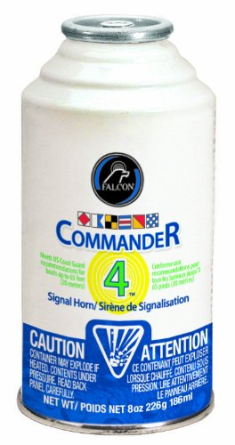 Falcon Commander 4 Horn Refill, 8 oz
