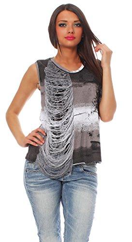 Religión–Camiseta de mujer Top Prolific Vest b123hlt52 negro