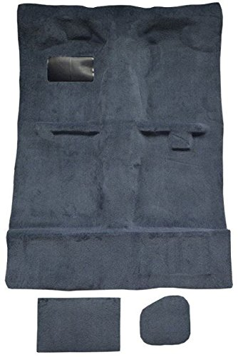 1995 to 2004 Toyota Extended Cab Pickup Truck Carpet Custom Molded Replacement Kit, Tacoma (Late 95-04) (8019-Mist Grey Plush Cut Pile) (Cab Extended Pickup Carpet Toyota)