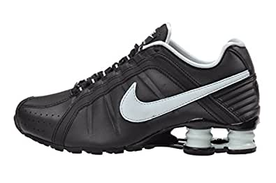 Amazon.com | Nike Womens Shox Junior Black Teal Tint ...