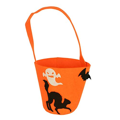 Halloween Handbag for Kids,iOPQO Baby Pumpkin Halloween Bag