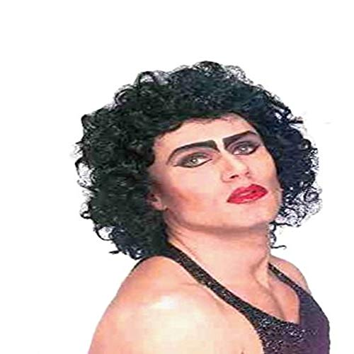 Forum The Rocky Horror Picture Show Frank And Furter Wig, Black, One -