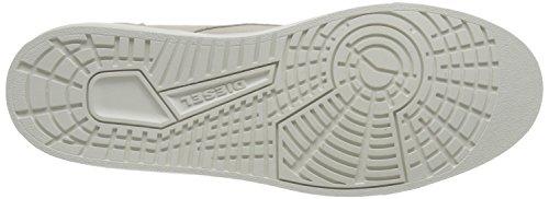 Diesel Mens Klawwner E-laarcken Mid Fashion Sneaker Oyster Grijs