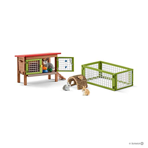 (Schleich Rabbit Hutch)