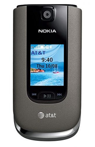 UPC 011029007123, AT&T Nokia 6350 No Contract Global 3G GSM Push-To-Talk Camera Gray Cell Phone