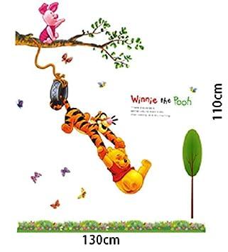 Wandtattoo Wandaufkleber Wandsticker Winnie Pooh Der Bar Und Tiger