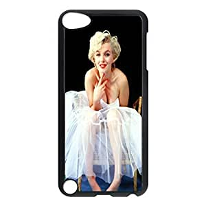 SUUER Marilyn Monroe Personalized Custom Plastic Hard CASE Back Fits Cover Case for iPod Touch 5, 5G (5th Generation)