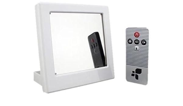 Kingdiscount K0862 - Cámara espía HD en espejo (con reloj digital): Amazon.es: Bricolaje y herramientas