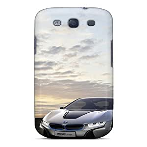 For Galaxy S3 Tpu Phone Cases Covers(bmw On Bridge)