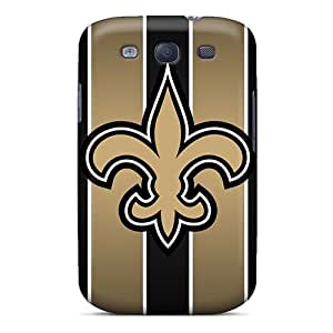 Protective Cell-phone Hard Cover For Samsung Galaxy S3 (Uxy2120qFoe) Unique Design Attractive New Orleans Saints Skin