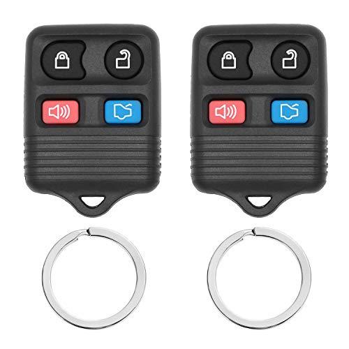(Replacement Keyless Entry Remote Car Control Key Fob Clicker Transmitter for Vehicles Replaces# - CWTWB1U331 CWTWB1U212 GQ43VT11T CWTWB1U345 Fits Ford, Lincoln, Mercury, Mazda Mustang Explorer Escape)